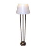 Lighting Platinum Finish Floor Lamp - Battery Op