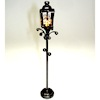 Working Filigree Yard Light - Battery Operated Amber