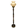 Working Antique Style Floor Lamp - Battery Operated