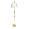 Working Thinline Golden Floor Lamp - Battery Operated