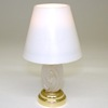 Working Modern Frosted Table Lamp - Battery Operated