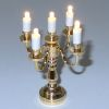 Working Lighing Battery Operated Candelabra Table Lamp