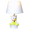 Working Teddy Bear Nursery Table Lamp - Battery Operated