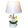 Working Rocking Horse Nursery Table Lamp - Battery Operated