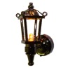 Black Working Coach Lamp - Amber Light - Battery Operated