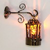 Lighting Hanging Coach Lamp - Battery Operated Amber Bulb