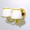 Working Double Shade Wall Sconce Lamp - Battery Operated
