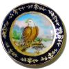 Christopher Whitford Handpainted Eagle Porcelain Plate