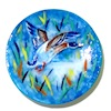 Christopher Whitford Handpainted Porcelain Flying Duck Plate