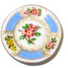 Christopher Whitford Handpainted Floral Porcelain Plate