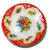 Christopher Whitford Handpainted Floral Bouquet Porcelain Plate