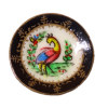 Christopher Whitford Handpaint Bird Of Paradise Porcelain Plate