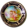 Christopher Whitford Handpainted Children Scene Porcelain Plate