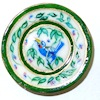 Christopher Whitford Handpainted Blue Bird Porcelain Plate