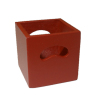 Miniature Wood Storage Crate - Red