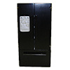 Modern Black Double Door Refrigerator Freezer