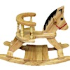 Oak Wood Rocking Horse Chair