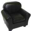 Black Leather Comfy Chair