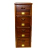 Four Drawer Real Wood Office File Cabinet