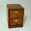 Two Drawer Real Wood Office File Cabinet