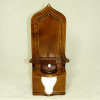 Ye Royal Flush Walnut Victorian Throne Toilet