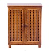 Dollhouse Bathroom Wood Storage Cabinet
