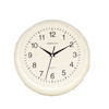 Round White Office or Kitchen Wall Clock