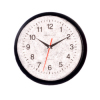 Round Black Office or Kitchen Wall Clock