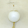 Working Miniature Chinese Lantern with Gold Tassel