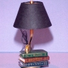 Stack of Books Table Lamp