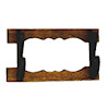 Dollhouse Miniature Handcrafted Wood Wall Mounted Rifle Gun Rack