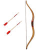 Miniature Recurve Bow With Red Arrows
