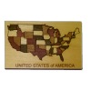 Working Wood Continental United States Map Puzzle