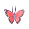 Colorful Rust Butterfly Artisan Crafted