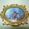 Ornate Gilded Framed Victorian Cherubs Picture