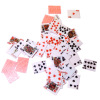Full Deck of Playing Cards with Red Backs