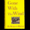 Gone With The Wind Printed Hardcover Book