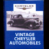 Illustrated Vintage Car Auto Coffee Table Book