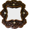 Taylor Jade Antiqued Copper Jeweled Rhinestone Mirror