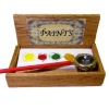 Taylor Jade Handcrafted Filled Artist Paint Box