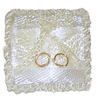 Taylor Jade Handcrafted Satin Wedding Ring Pillow