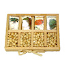Handcrafted Wood Vegetable Seed Tray Set