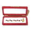 Taller Targioni Ruby Crystal Jewelry In Opening Velvet Case
