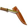 Taller Targioni Handcrafted Bowie Hunting Knife and Sheath