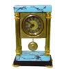 Working Turquoise Mantle Clock