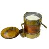 Taller Targioni Old Pot Filled With Porridge