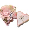 Taller Targioni Handcrafted Heart Shaped Filled Sewing Box