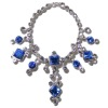 Ursula Sturmer Sapphire and Crystal Necklace