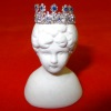 Ursula Sturmer Sapphire and Crystal Tiara on Display Head