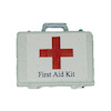 White Medical First Aid Kit Box
